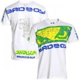 Camiseta Bad Boy Branca maurício Shogun UFC 113