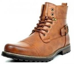 Imagem do Produto Bota Bruno Marc Philly Vintage Laced Up Side Zipper