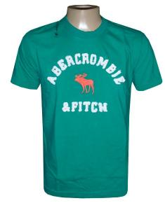 Camiseta Abercrombie Verde New York